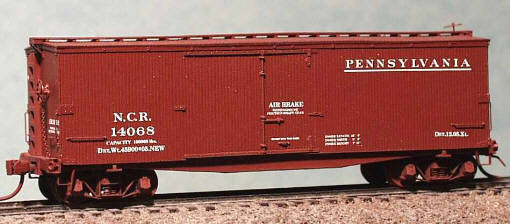 PRR Pro Tackles XL Box Cars